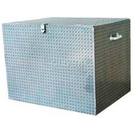 "Vestil Aluminum Treadplate Tool Box APTS-3660 - 60""x24""x36"""