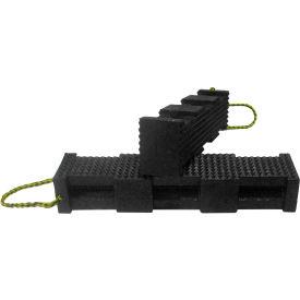 "AME International Super Stacker Cribbing Block 6""X7""X24"" - Black 15230"