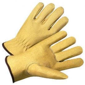 4000 Series Pigskin Leather Driver Gloves, Anchor 9940k/Xl