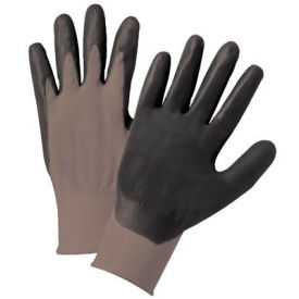 Foam Nitrile Palm Coated Nylon Gloves, PosiGrip® 713SNF/M - Pkg Qty 12