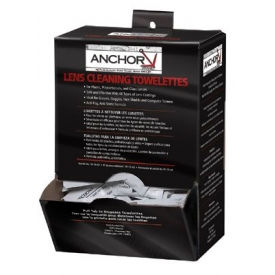 Lens Cleaning Towelettes, Anchor 70-AB, 100/Box