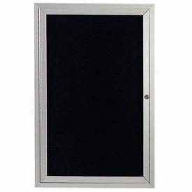 """Aarco 1 Door Letter Board Cabinet 24""""W x 36""""H by"""