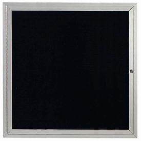 """Aarco 1 Door Letter Board Cabinet 36""""W x 36""""H by"""