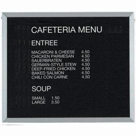 "Aarco Aluminum Framed Letter Board Message Center - 36""W x 30""H"