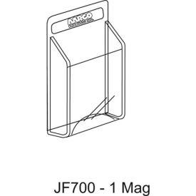 "Clear-Vu Magazine And Literature Display-1 Magazine Pocket - 11""W x 14""H"