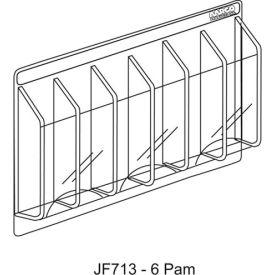 "Clear-Vu Pamphlet Display 6 Pamphlet Pockets - 31""W x 11""H"