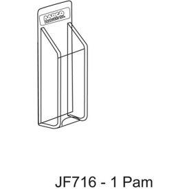 "Clear-Vu Pamphlet Display 1 Pamphlet Pockets - 5""W x 11""H"
