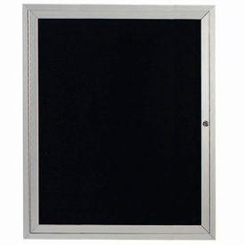 "Aarco 1 Door Enclosed Letter Board Cabinet 30""W x 36""H by"