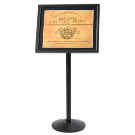 """Aarco Small Menu And Poster Holder Black - 24""""W x 20""""H"""