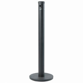 Outdoor Ashtrays Free Standing Floor Cigarette Receptacle Black B289304 Global