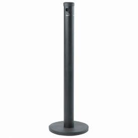 Floor Standing Cigarette Receptacle Black