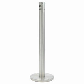 Floor Standing Cigarette Receptacle Satin