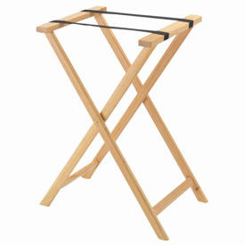Aarco Products  In Light Wood Folding Tray Stand