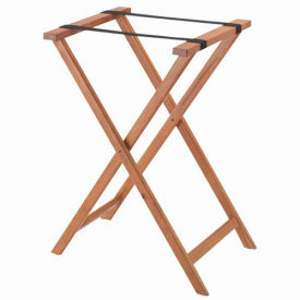 Aarco Products  In Medium Wood Folding Tray Stand