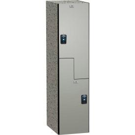 ASI Storage Traditional Phenolic Locker 11-8Z1518720 - Z Style 15 x 18 x 72 1-Wide Graphite Grafix