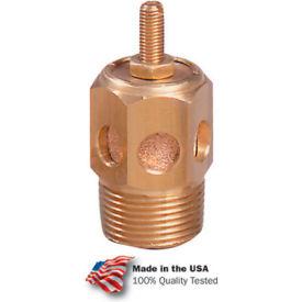 "Arrow Speed Control Muffler ASP-1SC, Sintered Bronze, 1/8"" NPT, 300 PSI - Pkg Qty 10"