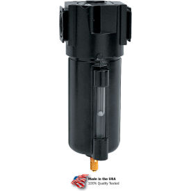 "Arrow Tri-Star Particulate Filter F354w, Zinc Bowl, 1/2"" Npt, 250 Psi"