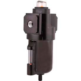 "Arrow Intermediate Coalescing Filter F532W, Zinc Bowl, 1/4"" NPT, 250 PSI"