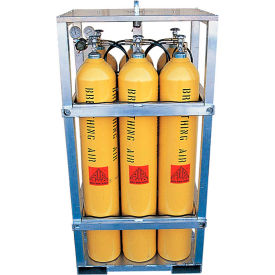 Air Systems International 6-Cylinder Aluminum LIFT-PAK™ - The Shark Cage, BR-6AL