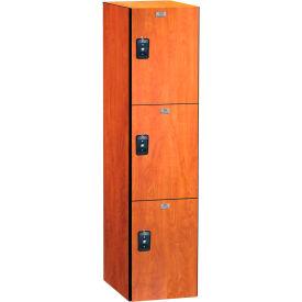 ASI Storage Traditional Plus Phenolic Locker 11-831212721 - Triple Tier 12x12x24, Graphite Grafix