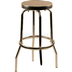 Alston Quality Aluminum Backless Swivel Bar Stool