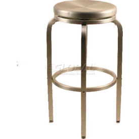 "Alston Quality Paula Aluminum Stool 30""H - Pkg Qty 2"
