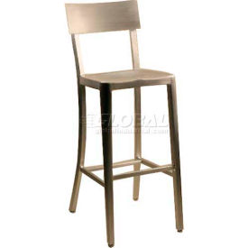"Alston Quality Melanie Aluminum Stool 30""H"