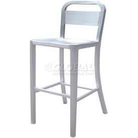 "Alston Quality Danish Aluminum Stool 30""H"