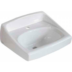 American Standard 0356.421.020 Lucerne Wall-Hung Sink, Single Hole Faucet