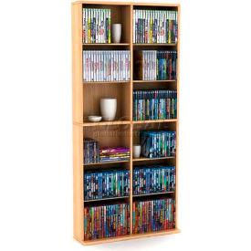 Atlantic® Oskar Media Cabinet 464 CD or 228 DVD in Maple
