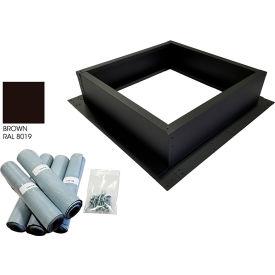 Attic Breeze® Roof Curb Installation Kit, Brown