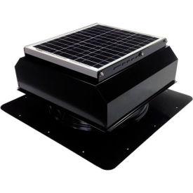 Attic Breeze® GEN 2 AB-2022A-BLK Self-Flashing Attached Solar Attic Fan 20W Black