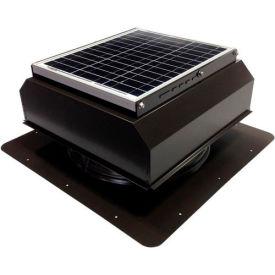 Attic Breeze® GEN 2 AB-2022A-BRN Self-Flashing Attached Solar Attic Fan 20W Brown