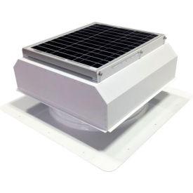 Attic Breeze® GEN 2 AB-2022A-WHT Self-Flashing Attached Solar Attic Fan 20W White