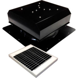 Attic Breeze® GEN 2 AB-2022D-BLK Self-Flashing Detached Solar Attic Fan 20W Black