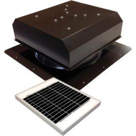 Attic Breeze® GEN 2 AB-2022D-BRN Self-Flashing Detached Solar Attic Fan 20W Brown