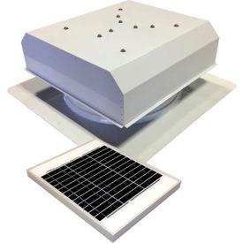 Attic Breeze® GEN 2 AB-2022D-WHT Self-Flashing Detached Solar Attic Fan 20W White