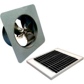 Attic Breeze® GEN 2 AB-2052 Gable Mount Solar Attic Fan 20W