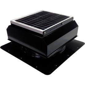 Attic Breeze® GEN 2 AB-3022A-BLK Self-Flashing Attached Solar Attic Fan 30W Black