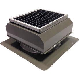 Attic Breeze® GEN 2 AB-3022A-GRY Self-Flashing Attached Solar Attic Fan 30W Gray
