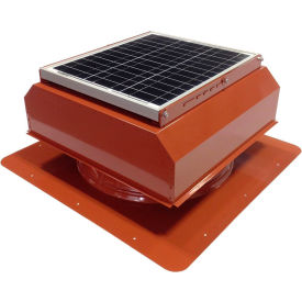 Attic Breeze® GEN 2 AB-3022A-TCT Self-Flashing Attached Solar Attic Fan 30W Terra Cotta
