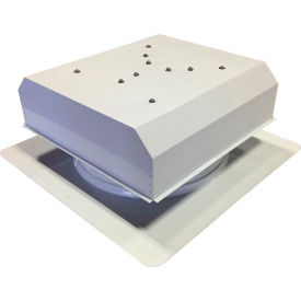 Attic Breeze® GEN 2 AB-3022D-WHT Self-Flashing Detached Solar Attic Fan 30W White