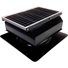 Attic Breeze® GEN 2 AB-4022A-BLK Self-Flashing Attached Solar Attic Fan 40W Black