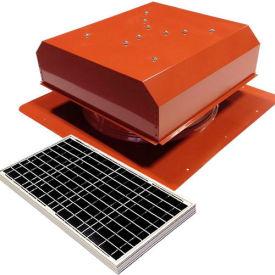 Attic Breeze® GEN 2 AB-4022D-TCT Self-Flashing Detached Solar Attic Fan 40W Terra Cotta