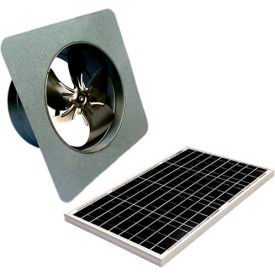 Attic Breeze® GEN 2 AB-4052 Gable Mount Solar Attic Fan 40W