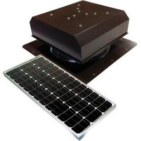 Attic Breeze® GEN 2 AB-6022D-BRN Self-Flashing Detached Solar Attic Fan 60W Brown