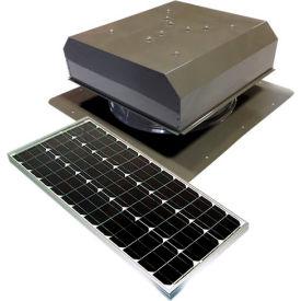 Attic Breeze® GEN 2 AB-6022D-GRY Self-Flashing Detached Solar Attic Fan 60W Gray