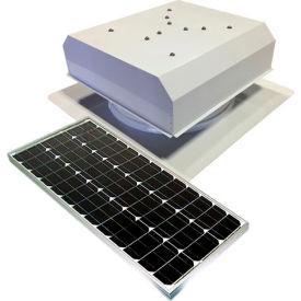 Attic Breeze® GEN 2 AB-6022D-WHT Self-Flashing Detached Solar Attic Fan 60W White