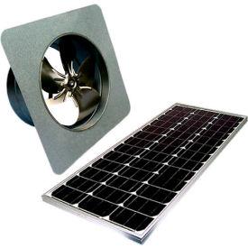 Attic Breeze® GEN 2 AB-6052 Gable Mount Solar Attic Fan 60W