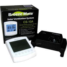 Attic Breeze® Breeze Mate™ CS-10A Solar Ventilation System (Attached Models Only)